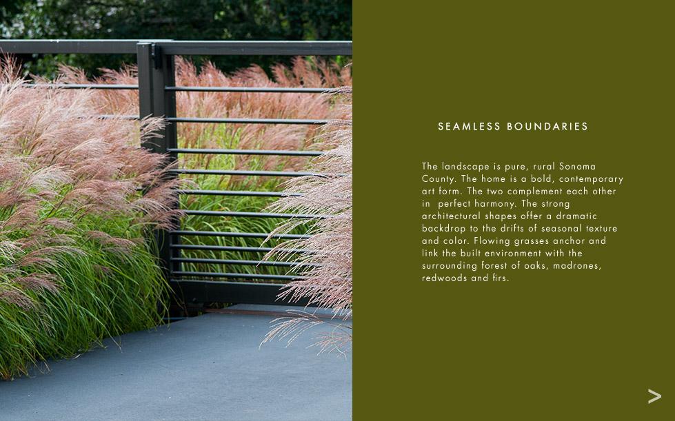 exteriors landscape architecture sonoma county california